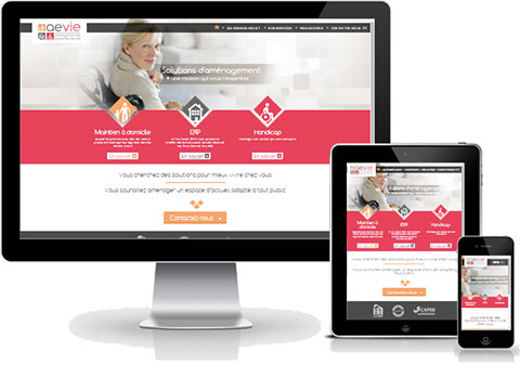 Site internet en responsive web design